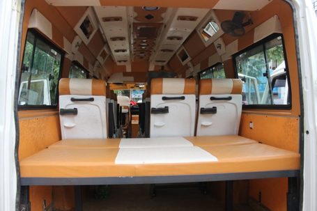 super luxury tempo traveller